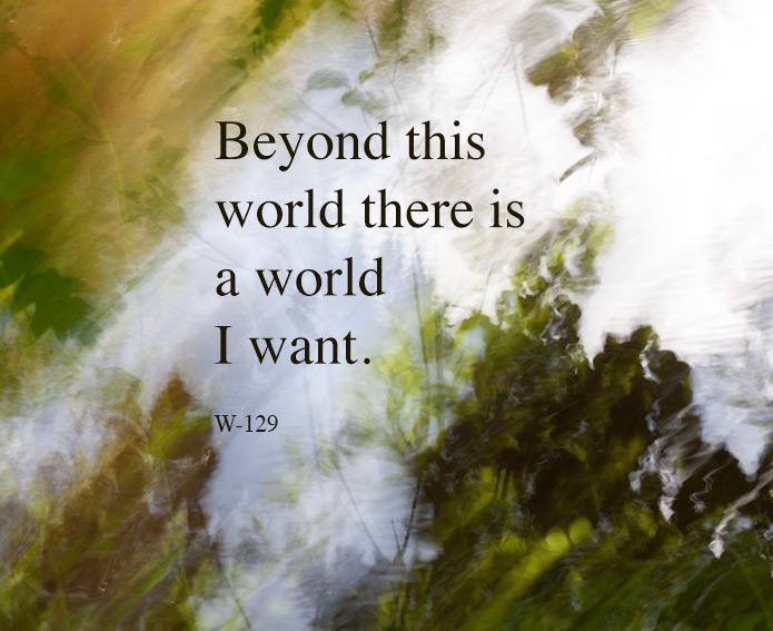 Beyond this world