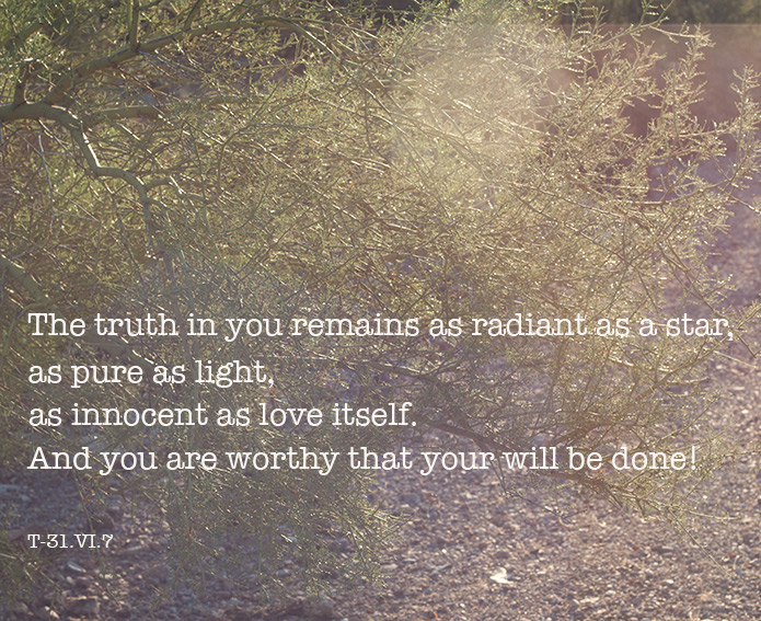 The truth in you