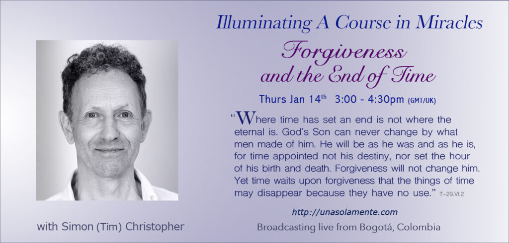 forgiveness and the end of time - colombia