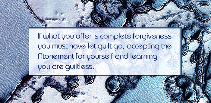 if what you offer is complete forgiveness