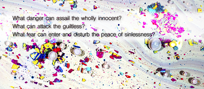 what danger can assail the wholly innocent