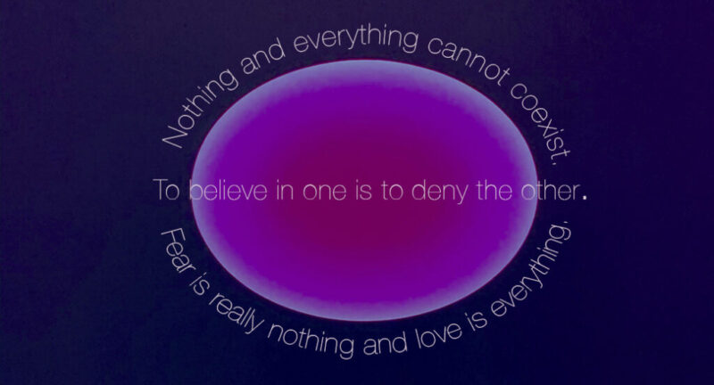 nothing and everything cannot coexist